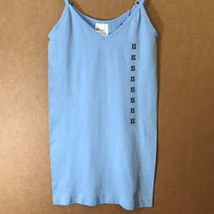  Energie  3/$20 5/$25 blue V neck cami tank 2-63